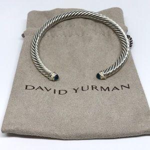 David Yurman Diamond Blue Topaz Bracelet